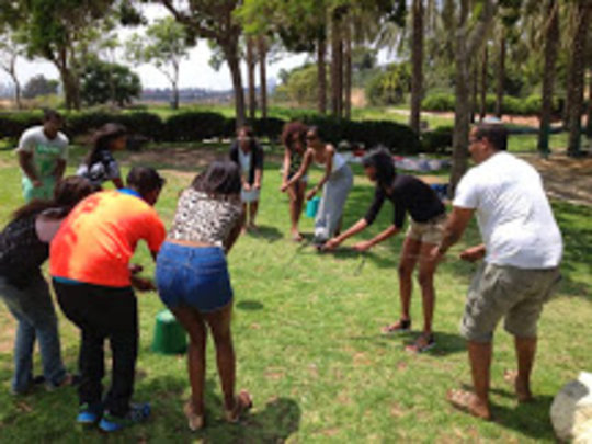 Team building activity,