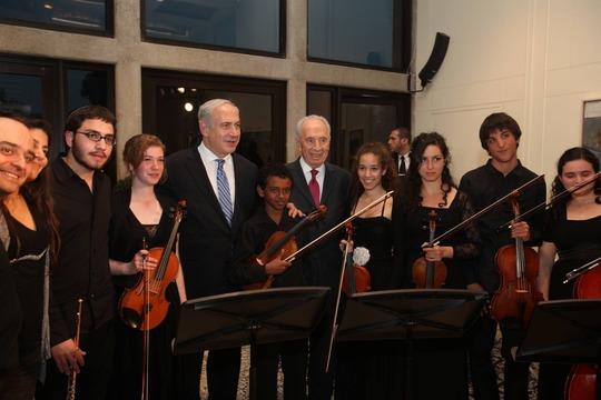 Abraham w/Israeli Prime Minister & President