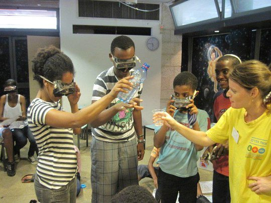 Group visit to the Jerusalem Museum of Science