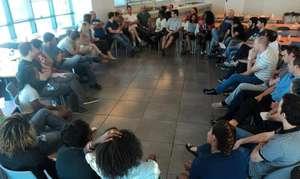 Student meeting