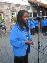 Revital, an 11th grade soprano singer