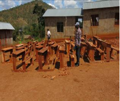 Desks made with money collected from VLFR fines