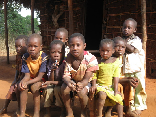 Children in Likwaya