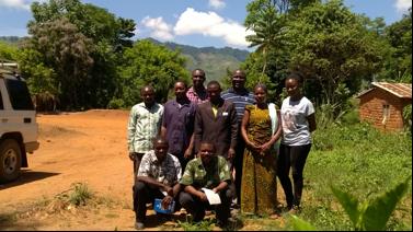 MJUMITA representatives with journalists
