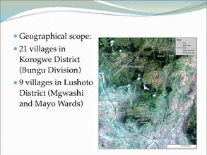 Photographs of West Usambara Projects (PDF)