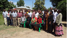 Participants in the teacher training event in June