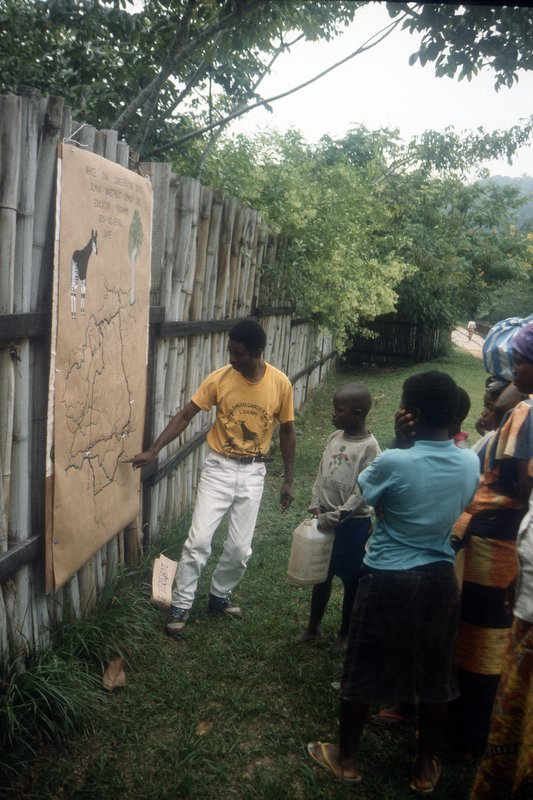 Educators traveling to local villages