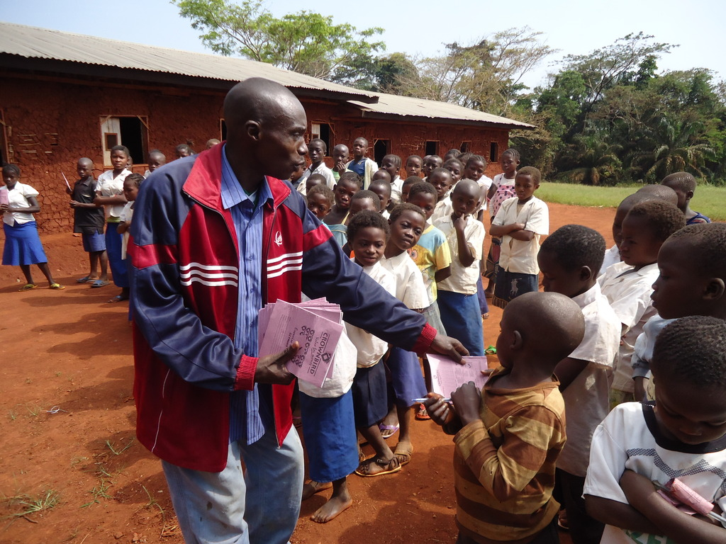 Distribution of School Supplies to Schools