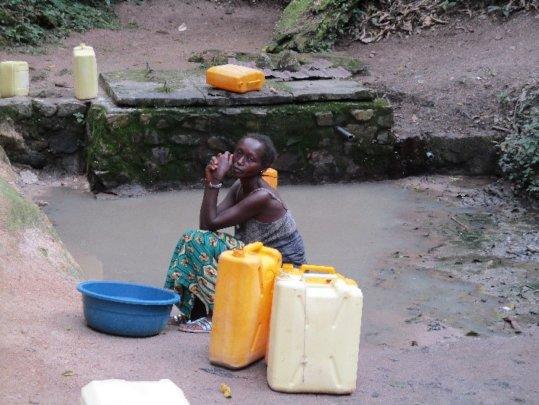 Before Retrofitting Water Source