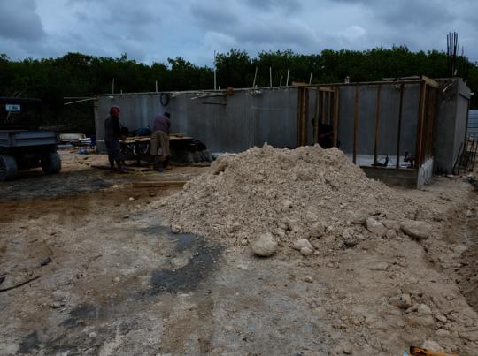 Cistern construction: new multipurpose building