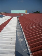 shows available roof space for array expansion