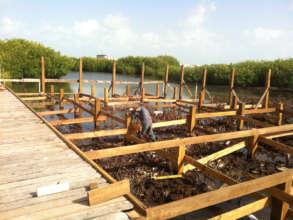 New Classroom Construction: Foundation
