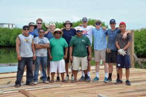 New classroom: Construction team