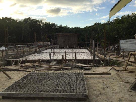 Cistern construction @ new Multipurpose facility