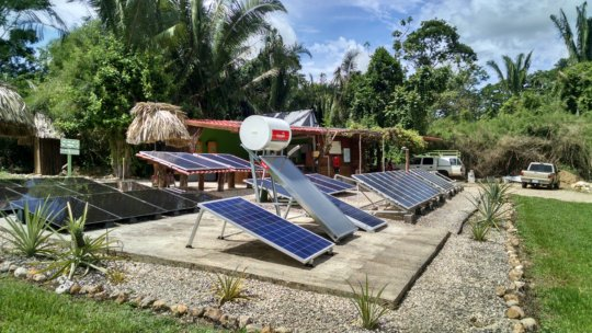 Solar Energy Solutions Belize Showcase Grounds