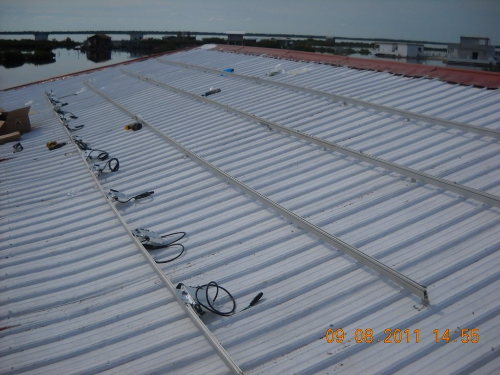 Micro-inverters installed at HCAS