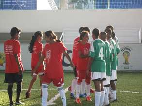 Young People in Football For Hope Festival, Brazil