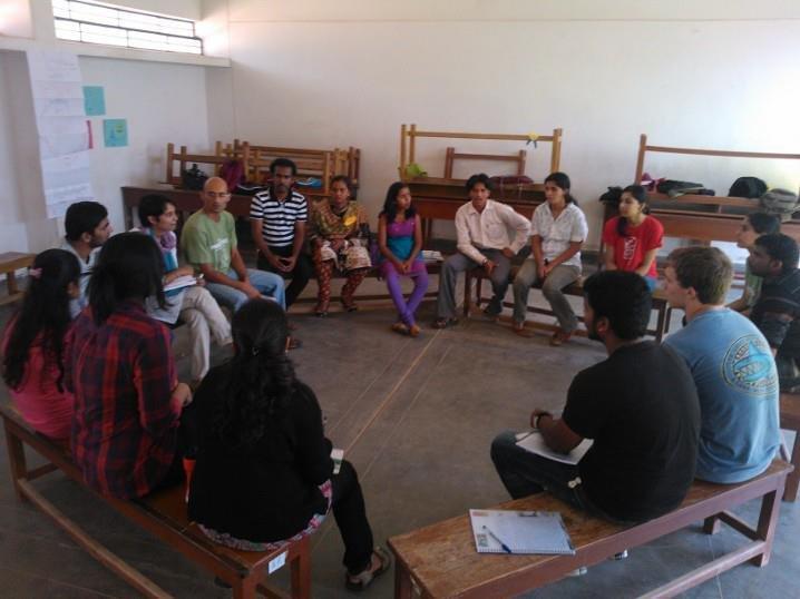 Life Skill Facilitators at the training