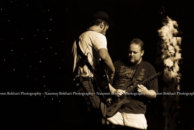 Atif and Todd Onstage 2