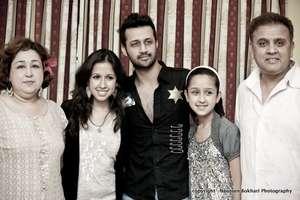 Atif with the Chughtai Family
