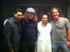 Lanny & Robbie with Rahat & Maroof Ali Khan