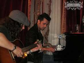 Lanny on Guitar and Atif on Piano