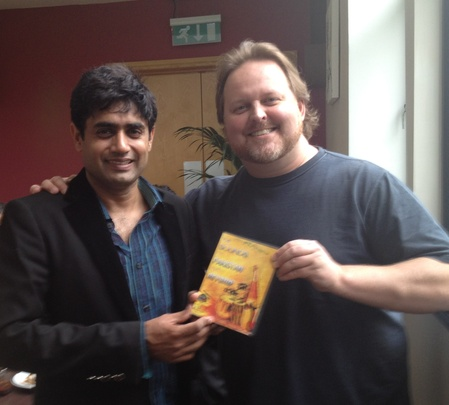 Todd and Abrar Ul Haq with our New 4 CD Set