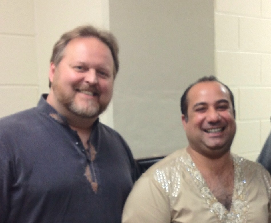 Todd Shea and Rahat Fateh Ali Khan