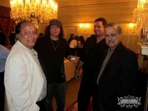 Waqar, Lanny, Paul and Perviaz