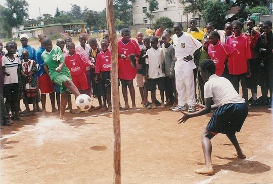 Teach soccer and life skills to 300 Kibera teams