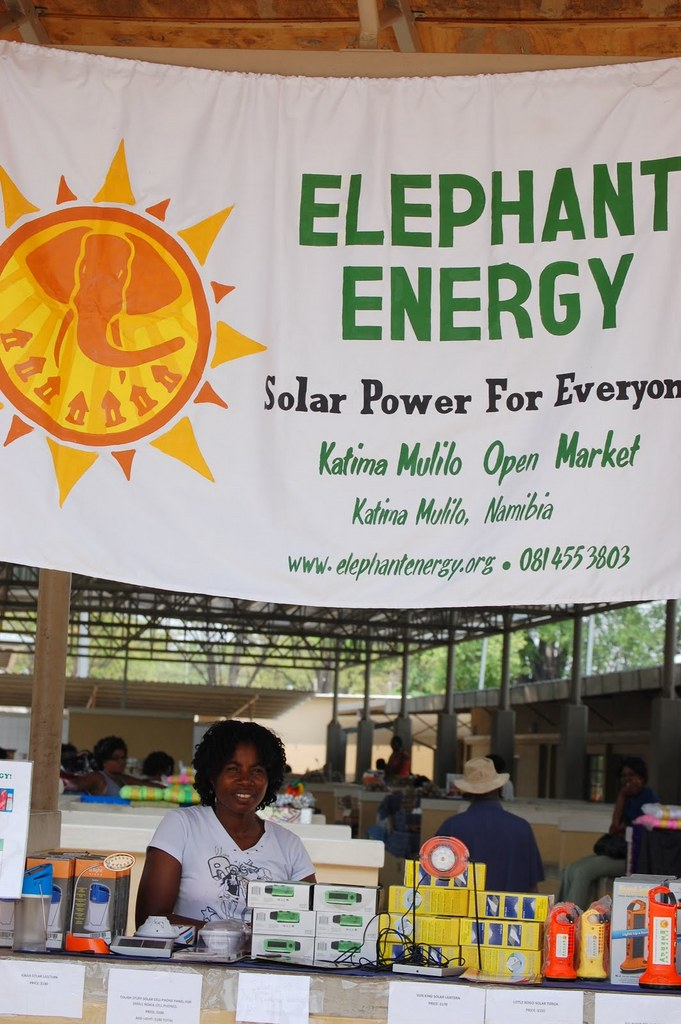 Annah Simbilu and the Energy Shop