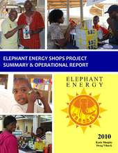 2010 Elephant Energy Shops Report (PDF)