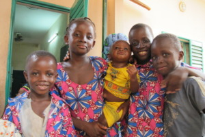 Fatoumata, siblings, and friends