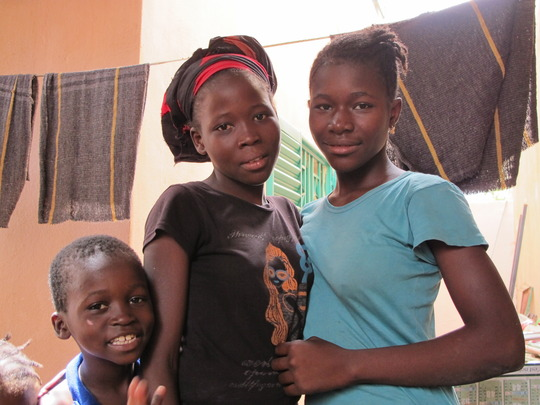Kids at the clinic