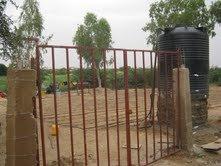 Bonfeba garden gate.
