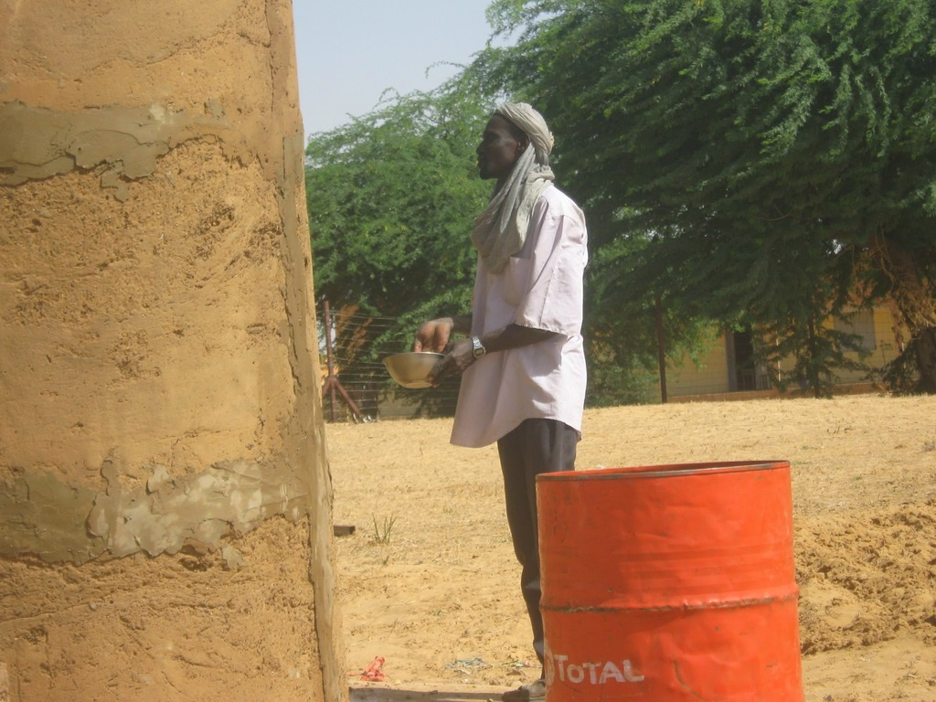 Repair of Nassile well wall