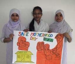 Midwifery students Creating Awareness!