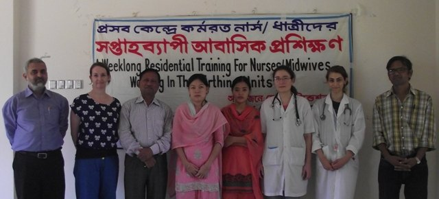 Midwifery Residential Training Programme Team