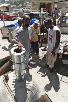 Clean cookstoves for Haiti