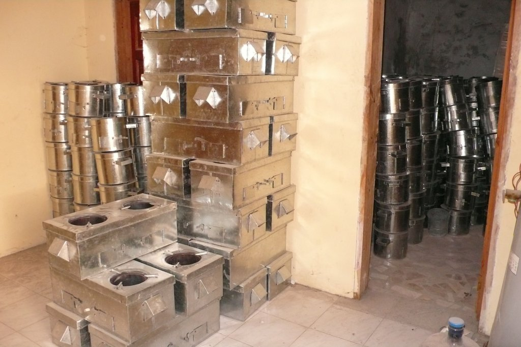 Clean cookstoves ready for families!