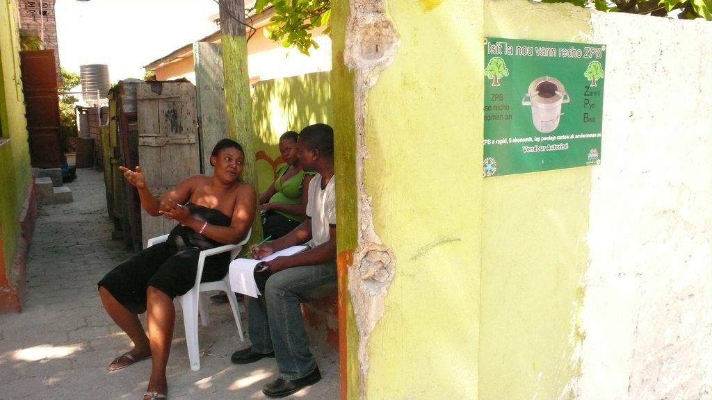 Jean Gabriel Visits with ZPB Vendors