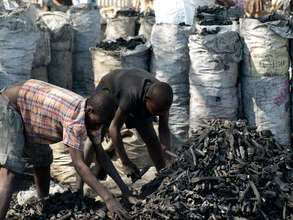 The Haitian Charcoal Market