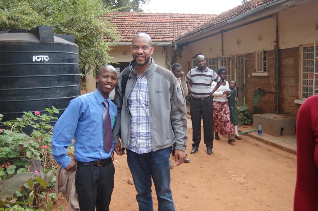 Wambua and I