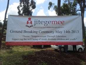 Ground Breaking Banner