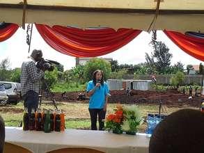 Farah Addressing Attendees