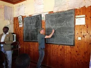 Patrick Explaining the Biogas System