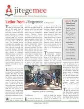 Jitegemee July 2011 Newletter (PDF)