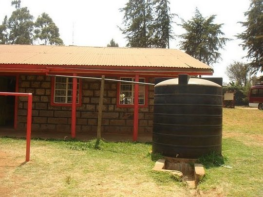 Jitegemee plans a water collection system