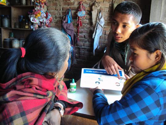 Students on Door 2 Door Campaign for WATASOL promo