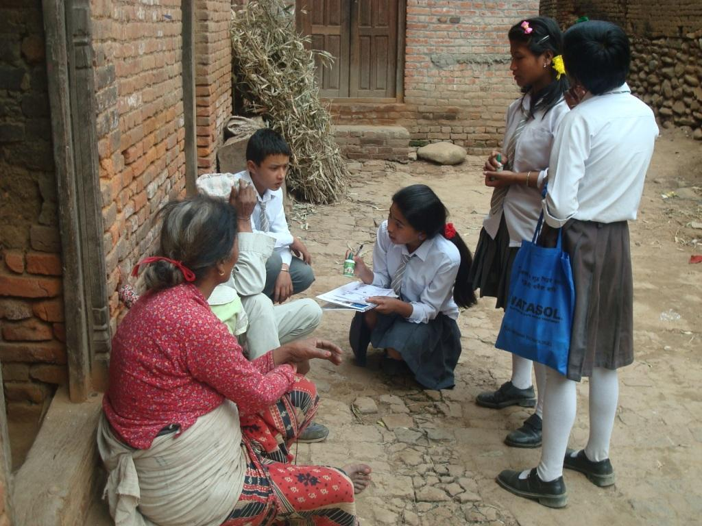 Door To Door Campaign by Students